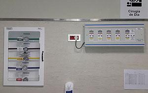 Sala de gases medicinales